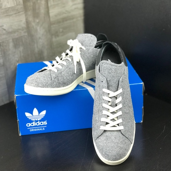 le adidas nwt stan smith pc lupo grigio poshmark m